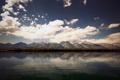 Картинка небо, вода, горы, фото, холмы, обои, пейзажи