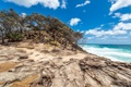 Картинка Australia, North Stradbroke Island, побережье, деревья, океан, Австралия, Queensland