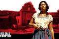 Картинка девушка, игры, револьвер, Red Dead Redemption, rockstar
