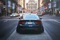 Картинка город, сзади, Honda, accord, stance, Acura TSX