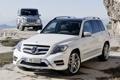 Картинка белый, небо, скала, Mercedes-Benz, джип, внедорожник, мерседес