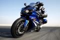 Картинка мотоцикл, мотоциклист, Yamaha, ямаха, YZF-R1