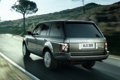 Картинка дорога, дерево, холм, джип, внедорожник, Land Rover, range rover