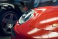 Картинка фара, 911, Porsche, крупным планом