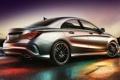 Картинка фон, Mercedes-Benz, Мерседес, вид сзади, AMG, 250, Sports Package
