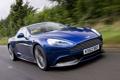 Картинка Aston Martin, Авто, Дорога, Синий, Машина, Решетка, Фары