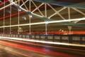 Картинка мост, город, огни