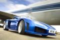 Картинка Дорога, Синий, Машина, Движение, Машины, Car, Автомобиль