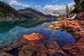 Картинка горы, река, красота, Canada, Фотограф IvanAndreevich