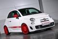 Картинка красный, тюнинг, red, 500, Fiat
