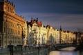 Картинка Архитектура, Чехия, мост, Прага, канал