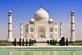 Картинка замок, Индия, памятник, храм, Taj Mahal, Тадж Махал, Agra