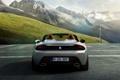Картинка Авто, Горы, Скалы, BMW, Машина, Кабриолет, Серый