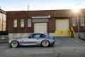 Картинка бмв, BMW, профиль, silver, серебристая