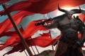 Картинка Dragon Age: Inquisition, меч, рога, Qunari, воин