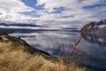 Картинка трава, вода, горы, природа, фото, пейзажи, вид