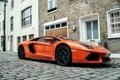Картинка Lamborghini, london, orange, LP700-4, aventador