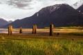 Картинка пейзаж, горы, Canada, British Columbia, Mt Currie Indian Reserve