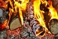 Картинка огонь, дрова, печь