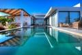 Картинка дизайн, стиль, вилла, интерьер, бассейн