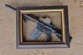 Картинка оружие, рамка, винтовка, штурмовая, AR-15, BCM