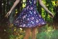 Картинка девушка, настроение, платье, боке