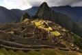 Картинка пейзаж, горы, природа, фото, строения, Мачу-Пикчу, древние