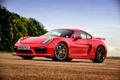 Картинка Porsche, Cayman, порше, GT4, кайман