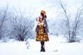 Картинка зима, девушка, снег, фотограф, girl, photography, photographer