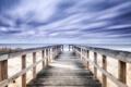 Картинка пляж, мост, море
