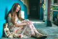 Картинка девушка, кукла, настроение