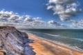 Картинка море, берег, Denmark, Rubjerg Knude, Nordjylland, Lønstrup