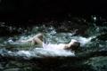 Картинка девушка, река, ситуация
