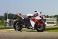 Картинка небо, мотоцикл, white, вид сбоку, yamaha, bike, ямаха