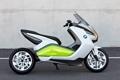 Картинка стиль, фон, мотоцикл, оригинальность, BMW I