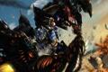 Картинка взрывы, битва, Transformers