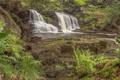 Картинка каскад, England, Англия, водопад, North York Moors, Water Ark Foss