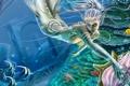 Картинка рыбы, морское дно, сирена, Toni Rodriguez