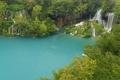 Картинка водопад, Хорватия, Плитвицкие озера