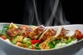Картинка курица, овощи, салат, куриное филе