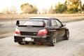 Картинка Subaru, черная, black, wrx, impreza, субару, sti