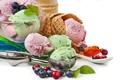 Картинка ягоды, мороженое, десерт, сладкое, sweet, dessert, ice cream