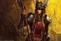 Картинка девушка, доспехи, воин, валькирия