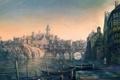 Картинка город, лодки, причал, Ведьмак, The Witcher 3: Wild Hunt