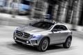 Картинка машина, Concept, свет, фары, Mercedes-Benz, скорость, GLA