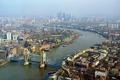 Картинка мост, река, Англия, Лондон, панорама, Темза, Тауэрский мост