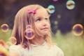 Картинка пузыри, настроение, девочка