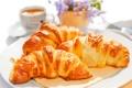 Картинка кофе, завтрак, cup, coffee, круассаны, croissant, breakfast
