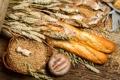 Картинка хлеб, колосья, мешок, пшено, выпечка, батоны
