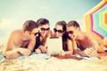 Картинка пляж, лето, отдых, смех, summer, beach, vacation
